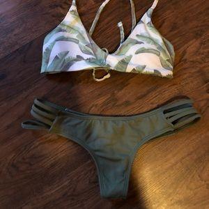 Midori Bikinis Olive Tavaruas Bottoms S